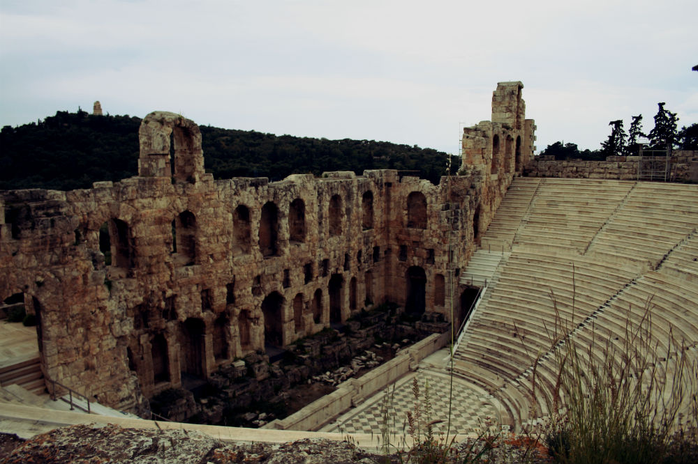 Athene Theater Herodes Atticus