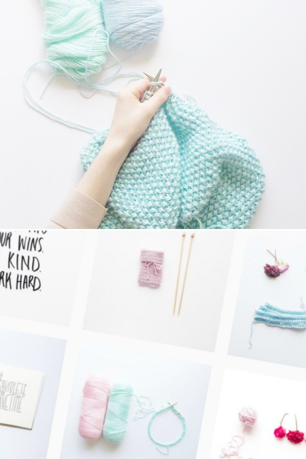 Knitting Inspiration Instagram : Merely merel miskunnn knitting inspiration